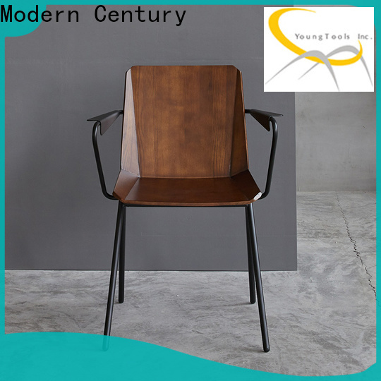 Modern Century wooden lounge chair factory for study