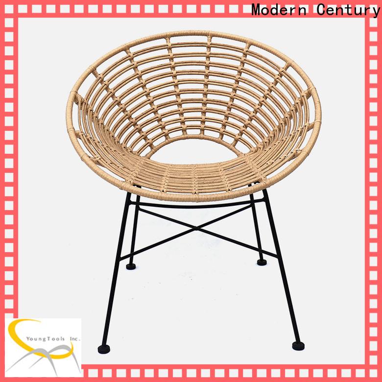 Modern Century new modern rattan chair trader for sale