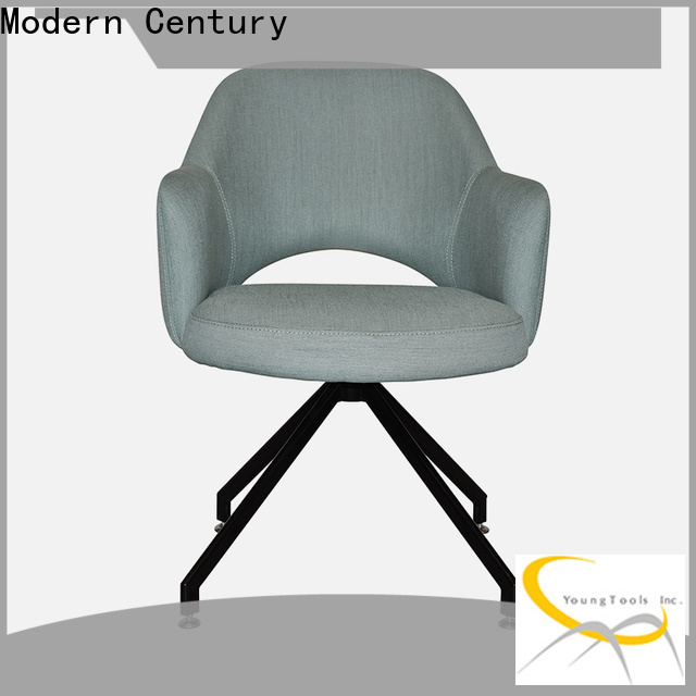 Modern Century white rattan dining chairs factory for dining hall