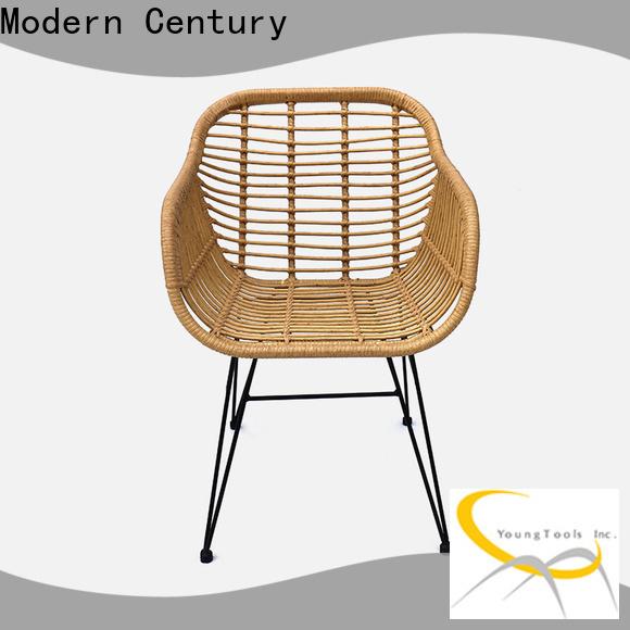 Modern Century rattan folding chair from China