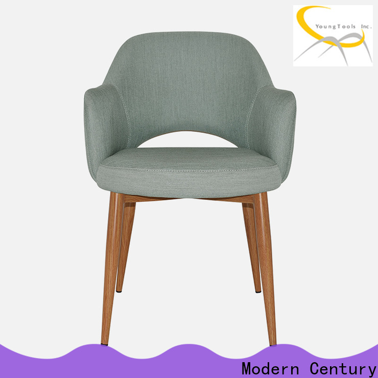 Modern Century orange dining chairs from China for table