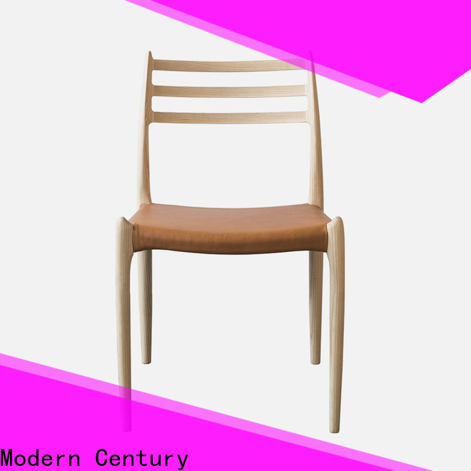 Modern Century black wooden dining chairs brand for dining table