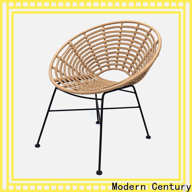 Modern Century rattan upholstered chair supplier for desk