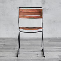 Wooden Chair Tachi W465×D510× H790 Commercial Antique Restaurant Industrial Furniture