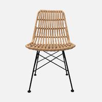 Rattan Chair Dua W470×D610×H830 Rattan With Metal