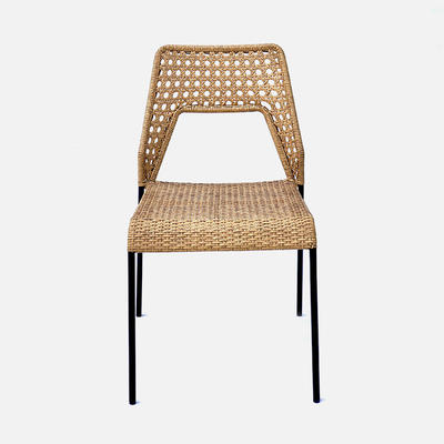 Rattan Chair Tiga W470×D560×H850 All-Natural Durability