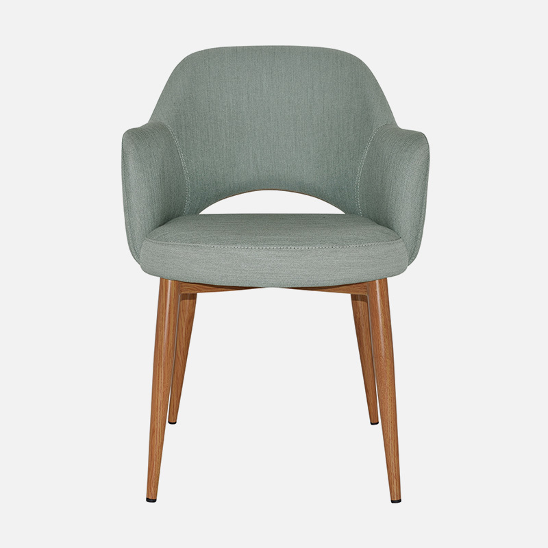 Dining Chairs Abbey Arm W570×D620×H840 SH490 A Chair specifically for the restaurant at the Hotel