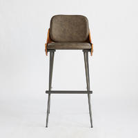 Bar Stools Cone Stool W470×D530×H1015 H760 Retro And Contemporary Design Styles