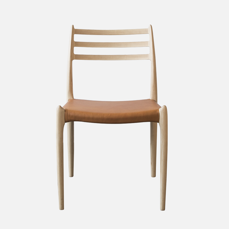 Wooden Chair Rasa W500×D500×H810 SH445 Solid Wood